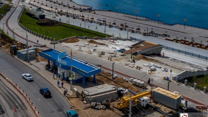 Власти Уфы снесут остановку, чтобы построить подземный переход на Монументе Дружбы