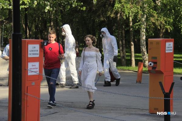 Сегодня в Новосибирске не работают в основном только торговые центры