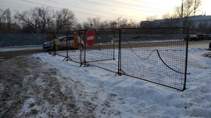 В Кургане на две недели продлили перекрытие улицы Куйбышева