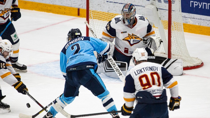 Хоккей:«Сибирь» одержала победу над «Металлургом» из Магнитогорска