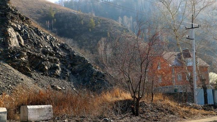 Мэрия объявила тендер на 10 млн рублей для укрепления сползающей горы Вышка на Базаихе