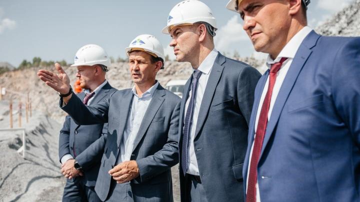 38-миллионную тонну гранита добыли в карьере «Борок»