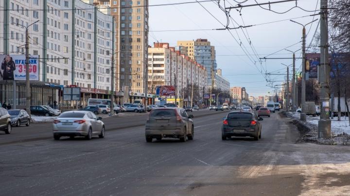 Пошла карта. По указанию Правительства РФ в Челябинске составили список дорог для установки разделителей