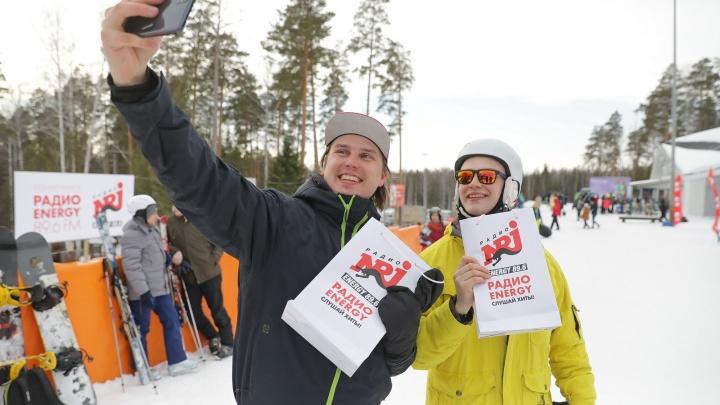 Музыка, драйв, сноуборд и лыжи: на Волчихе прошли очередные «покатушки» от радио ENERGY