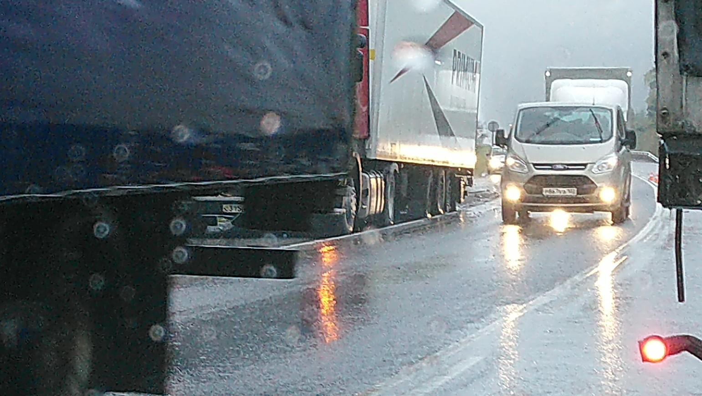 В момент аварии в Ашинском районе шёл дождь со снегом
