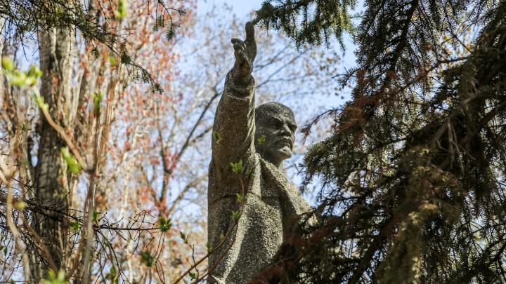 В Волгограде снесли памятник Ленину