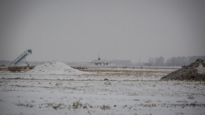 Рейс из Москвы не смог приземлиться в Новокузнецке и был отправлен в Новосибирск