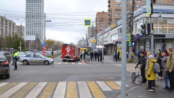 Следком начал расследовать уголовное дело водителя пожарной машины, который сбил ребенка