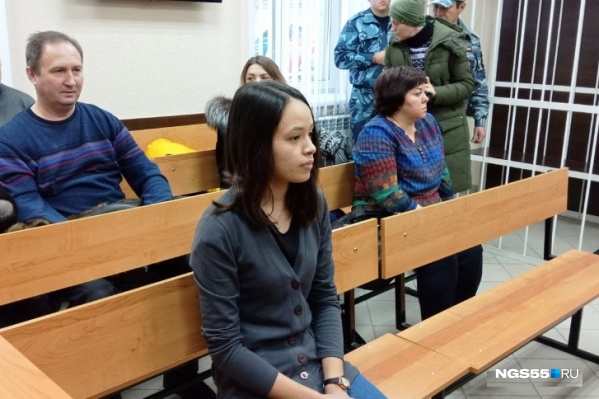 Алину Юмашеву арестовали сразу после вынесения приговора