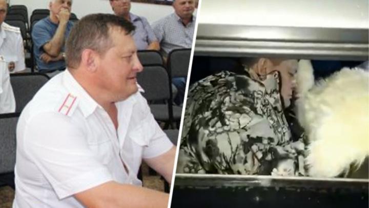 Погоня за пьяным начальником ГИБДД в Куйбышеве попала на видео, автор ролика боится за свою жизнь
