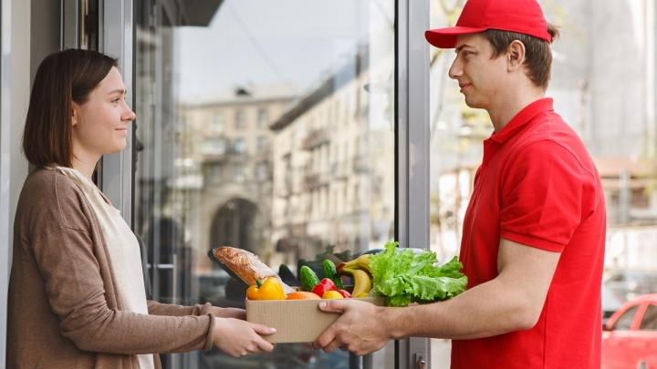 Екатеринбуржцы стали чаще заказывать продукты через мобильное приложение «Пятёрочка Доставка»