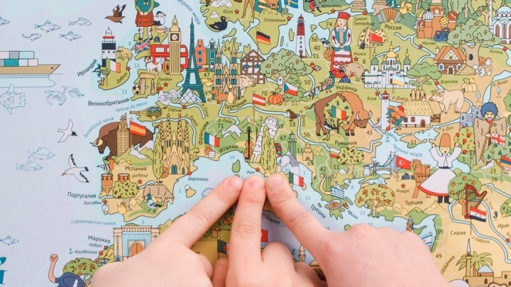 Игра вместо уроков: как в Перми начали выпускать детские географические карты с заданиями