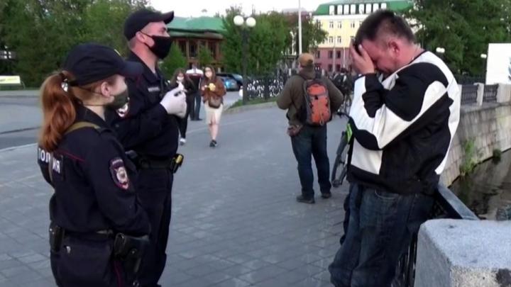 Полиция раскрыла, сколько человек в Екатеринбурге поймали на нарушении режима самоизоляции