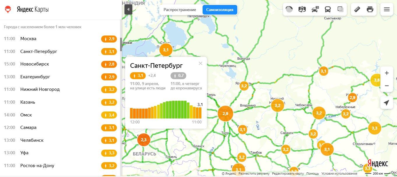 """Скриншот из&nbsp;<a href=""""https://yandex.ru/maps/covid19/isolation?l=trf%2Ctrfe&amp;ll=42.964421%2C56.722286&amp;z=5"""" class=""""_"""">yandex.ru/maps/covid19/isolation</a>"""