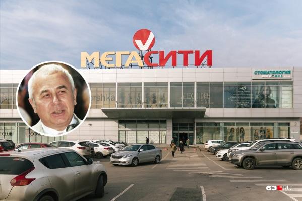 Пристрой к ТЦ Сурков сделал в 2015 году