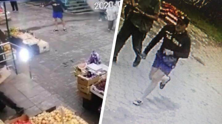 Полиция объявила в розыск новосибирца, который открыл стрельбу по палатке с фруктами и сбежал