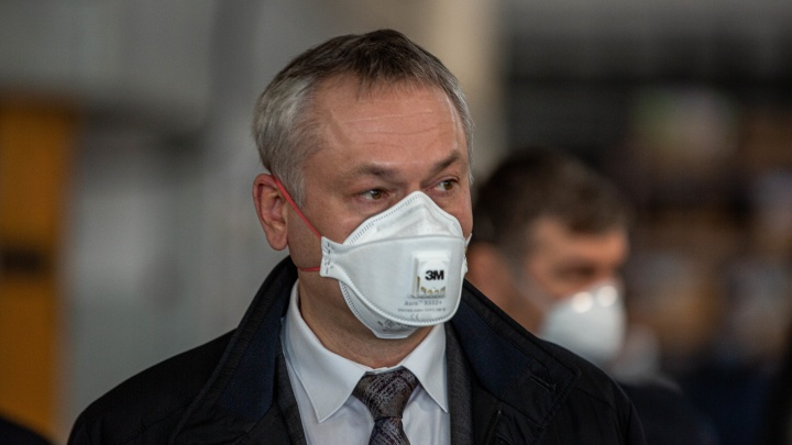Андрей Травников заявил, что Новосибирская область находится на плато по коронавирусу