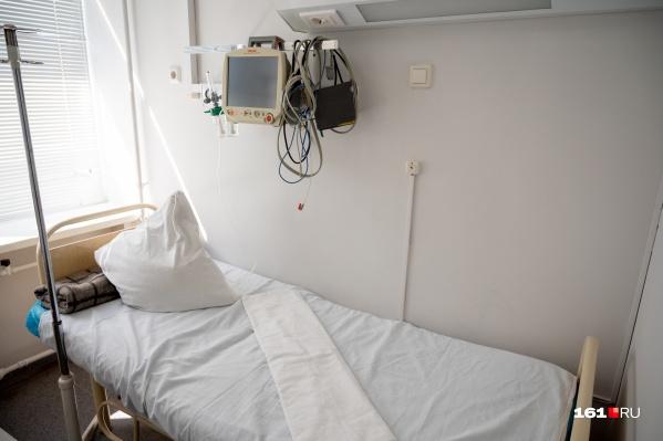 Палата в первом моногоспитале при ГБ № 20, который открылся в мае