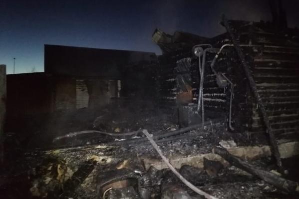 Пожар вспыхнул ночью 15 декабря