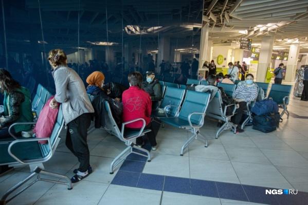 Жители Киргизии смогли вернуться домой только через несколько недель ожидания