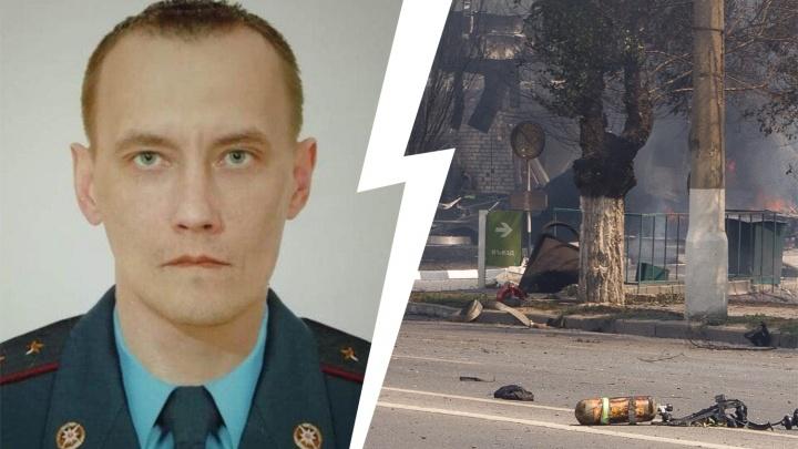 Умер спасатель, пострадавший при взрыве АЗС в Волгограде