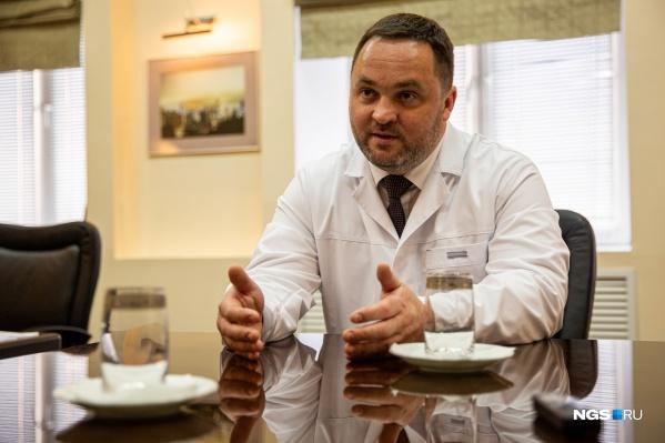 Андрей Корыткин работает в НИИТО с октября 2019 года