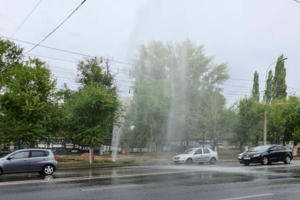 Ливневая канализация на проспекте Ленина справилась с нагрузкой