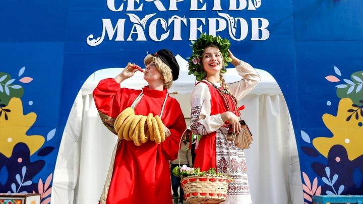 Биостимпанк и народники: в Нижнем Новгороде прошел фестиваль «Секреты мастеров»