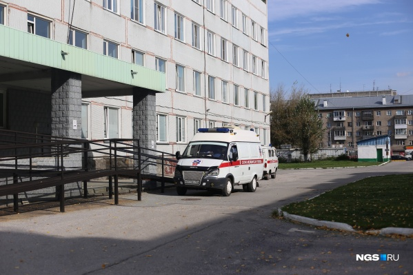 Больница № 12, которая остаётся ковидным госпиталем