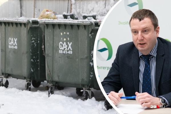 Дмитрий Кузнецов считает, что главы районов области тоже должны влиять на качество вывоза отходов — без их содействия к некоторым контейнерам просто не проехать