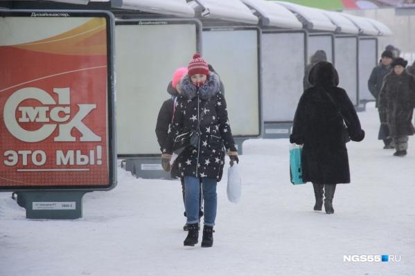 После холодной зимы омичей ждёт аномально тёплый март