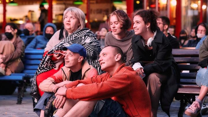 В Перми пройдет фестиваль уличного кино: зрители будут голосовать светом фонариков или мобильников