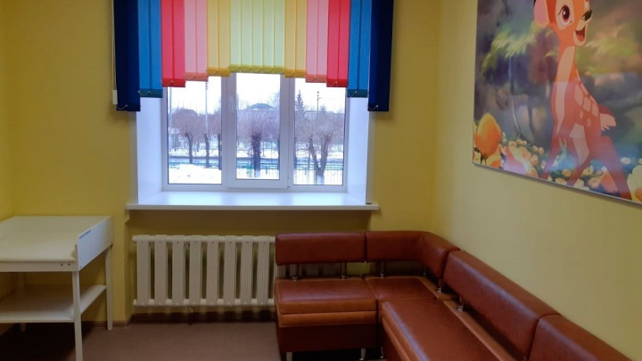 В Кетовской центральной районной больнице после капремонта открыли детское отделение