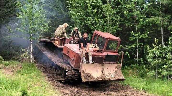 Власти Кузбасса остановили работы золотодобытчиков в Горной Шории