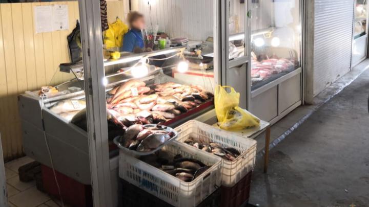 На волгоградском рынке накрыли пять браконьерских точек