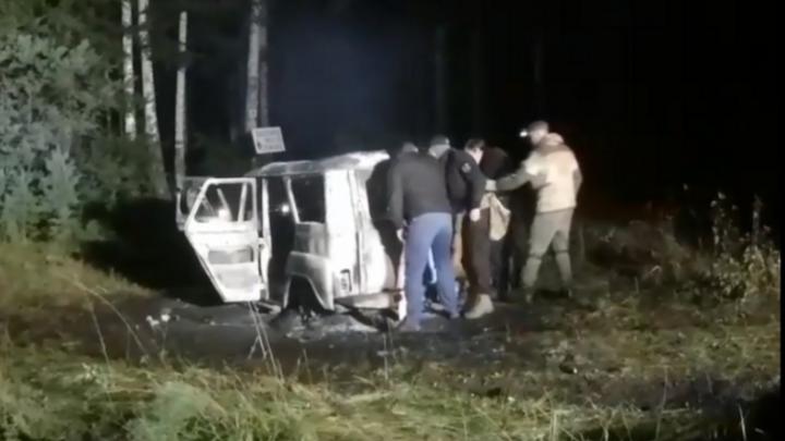 Против браконьеров, которые сожгли УАЗ и обстреляли бойцов СОБРа в Сысерти, возбудили уголовное дело