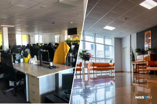Новосибирские офисы еще на прошлой неделе начали стремительно пустеть