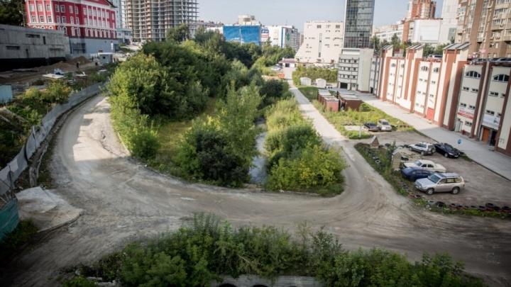Новосибирская речка оказалась исключена из Росреестра — это позволило развернуть стройку на её берегах