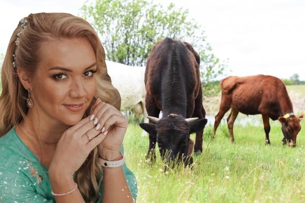Анна Сечина рассказала о чудесах, которые с ней случились после того, как в ее жизни появилась... корова