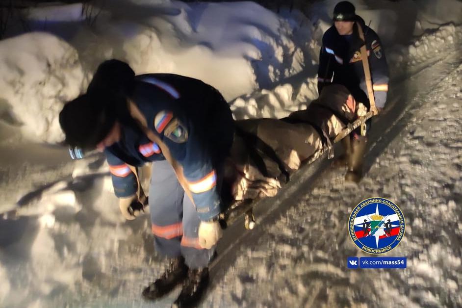 Мужчина сказал спасателям, что у него начали отказывать ноги