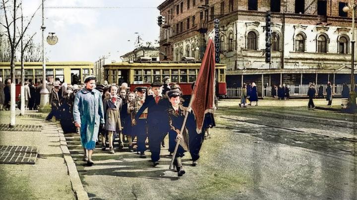 Пермский дизайнер «оживил» портрет Дягилева и старые фотографии Перми