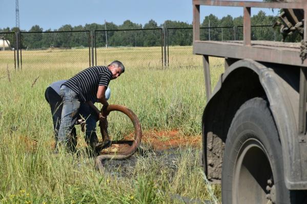 В ближайшее время на скважины будут устанавливать новые насосы
