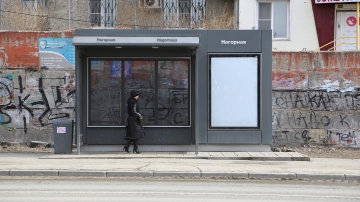 Из-за строительства дорожной развязки в центре Челябинска закрыли трамвайную остановку