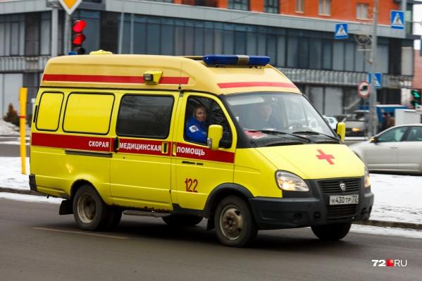 Медики оперативно оказали помощь пострадавшему