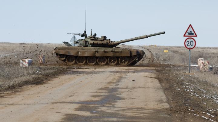 В Волгоградской области отложили битву лучших танкистов со всего юга