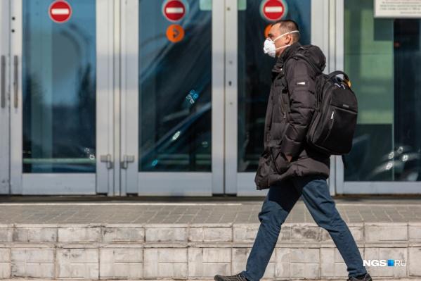 В Красноярском крае снизилась скорость распространения коронавируса
