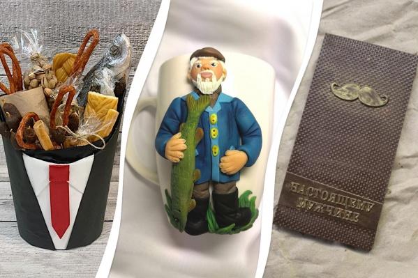 Подарки защитникам на любой вкус: от кружек и шоколада до йоги и лазертага