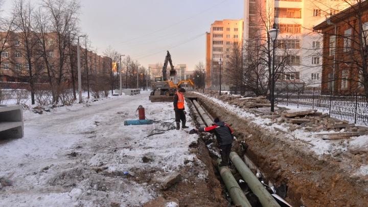 Начинайте обдумывать пути объезда: рассказываем, какие улицы Екатеринбурга перекроют в ноябре