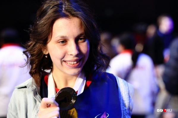 Анастасия участвует в чемпионатах по профессиональному мастерству и побеждает
