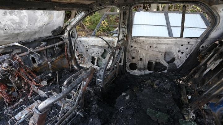 В Курганской области за год сгорели 60 автомобилей
